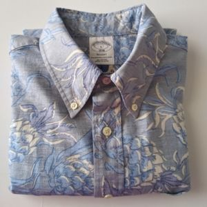 NWOT Brooks Brothers Shirt Short Sleeve Button L